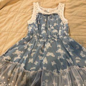 4T Epic Threads blue lace dress